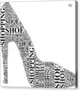 Shoe Shopping Acrylic Print