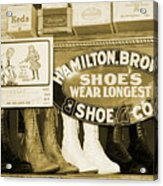 Shoe Shopping In The 30's Acrylic Print
