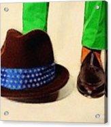 Shoe Work Acrylic Print