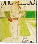 Shoeless Joe Jackson Acrylic Print