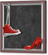 Shoes For Every Occasion Acrylic Print