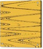 Shoestring Eucalyptus Abstract Acrylic Print