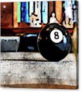 Shooting For The Eight Ball Acrylic Print