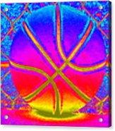Shooting Hoops Acrylic Print