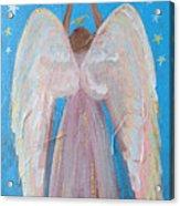 Shooting Star Angel Acrylic Print