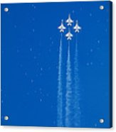 Shooting Stars Acrylic Print by Paul Ge