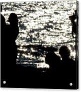 Shooting Sunset Acrylic Print