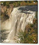 Shooting The Falls Acrylic Print