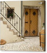 Shop In Rovinj Acrylic Print