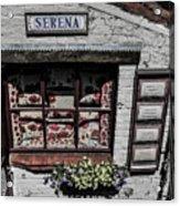 Shop Of Bruges Acrylic Print