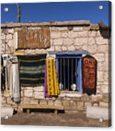 Shopping In Toconao Chile Acrylic Print
