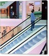 Shopping Mall Acrylic Print