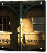 Shops At Covent Garden Acrylic Print