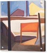 Shore Ave Trestle Study Bogota Nj Acrylic Print