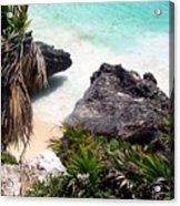 Shore Of Mexico Acrylic Print