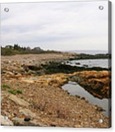 Shoreline Gloucester Massachusetts Acrylic Print