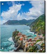 Shores Of Cinque Terre Acrylic Print