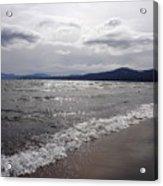 Shores Of King's Beach Lake Tahoe Acrylic Print