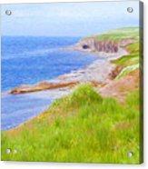 Shores Of Newfoundland Acrylic Print