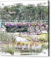 Shorey Park Bridge I Acrylic Print