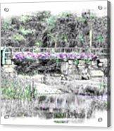 Shorey Park Bridge Acrylic Print