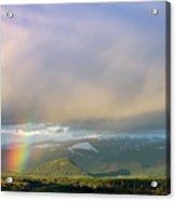 Short Rainbow Acrylic Print