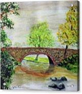 Shortcut Bridge Acrylic Print
