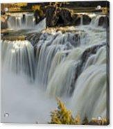 Shoshone Falls in Spring Acrylic Print