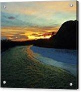 Shoshone River Sunset Acrylic Print