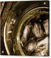 Shot Of Whisky On The Rocks Acrylic Print