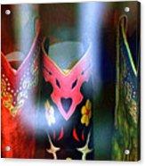 Show Boots Acrylic Print
