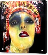Show Girl Milly Acrylic Print