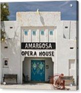 Show Tonight Amargosa Opera House Acrylic Print
