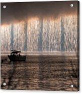 Shower Of Fireworks Acrylic Print