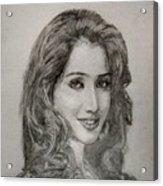 Shreya Ghoshal Acrylic Print