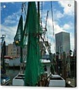 Shrimp Boat Back Acrylic Print