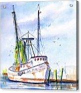 Shrimp Boat Gulf Fishing Acrylic Print