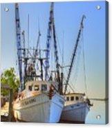 Shrimp Boats Acrylic Print