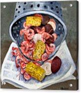Shrimp Boil Acrylic Print