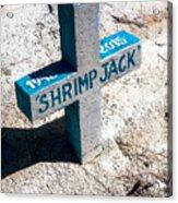 Shrimp Jack Acrylic Print