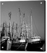 Shrimper Fleet Acrylic Print
