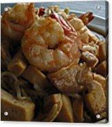 Shrimps With Tofu Acrylic Print