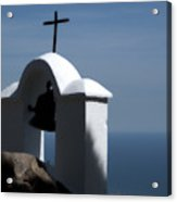 Shrine Of Calvario Acrylic Print