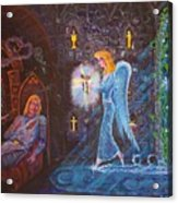 Shrine Of The Lost Flame Acrylic Print