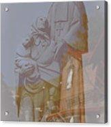 Shrine Reflections Acrylic Print