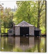 Shropshire Boathouse Acrylic Print