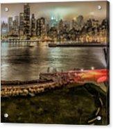 Shrouded City 5255 Acrylic Print