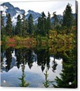 Shuksan Vista Acrylic Print