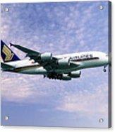 Sia A380 9v-ska Acrylic Print