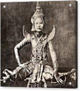 Siam: Dancer, C1870 Acrylic Print